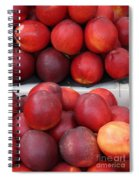 European Markets - Nectarines Spiral Notebook