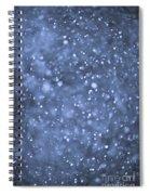 Evening Snow Spiral Notebook