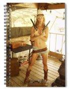 Everglades Cowgirl Spiral Notebook