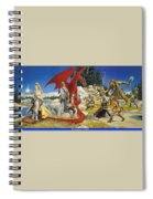 Everquest Abraxsis Keith Parkinson Spiral Notebook