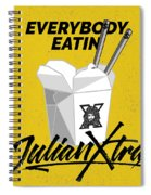 Everybody Eatin Spiral Notebook