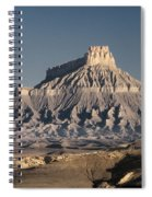 Factory Butte 0562 Spiral Notebook