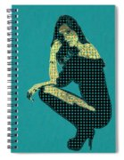 Fading Memories - The Golden Days No.2 Spiral Notebook