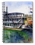 Fairbanks Paddle Wheel Spiral Notebook