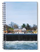 Fairmount Dam - Boathouse Row Spiral Notebook