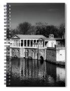 Fairmount Water Works - Philadelpha Spiral Notebook