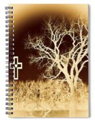 Faith And Strength Spiral Notebook