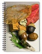 Fall Arrangement Spiral Notebook
