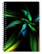 Fantasy Flower Spiral Notebook