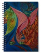 Far Away Eyes Spiral Notebook