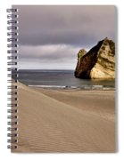 Farewell Spit New Zealand Spiral Notebook