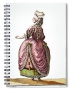 Fashion: French, 1778 Spiral Notebook