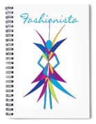Fashionista Spiral Notebook