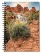 Faux Falls Spiral Notebook