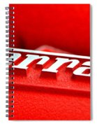 Ferrari Intake Spiral Notebook