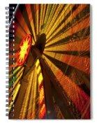 Ferris Wheel At Night Spiral Notebook