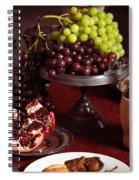Festive Dinner Still Life Spiral Notebook