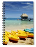 Fiji, Malolo Island Spiral Notebook