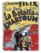 Film Homage Khartoum 1966 Cinema Felix Number 2 Us Mexico Border Town Nogales Sonora 1967-2008 Spiral Notebook
