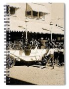 Film Homage Newsreel Cameraman The Great White Hope Set Globe Arizona 1969-2008 Spiral Notebook