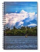 Finding Safe Harbor Spiral Notebook