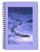 Fingolfin Leads The Host Across The Helcaraxe Ted Nasmith Spiral Notebook