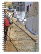 Fira - Santorini Spiral Notebook