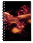 Fire Abstract  Spiral Notebook