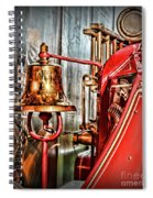 Fireman - The Fire Bell Spiral Notebook