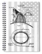 Fireman's Helmet Patent Spiral Notebook