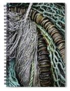 Fish Netting Husavik Iceland 3755 Spiral Notebook