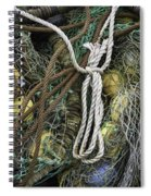 Fish Netting Husavik Iceland 3764 Spiral Notebook