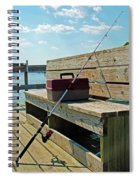 Fishin' Pole Spiral Notebook