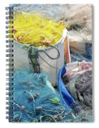 Fishing Industry In Limmasol Spiral Notebook