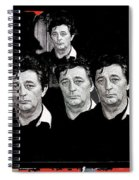 Five Robert Mitchum's Young Billy Young Set Old Tucson Arizona 1968-2012 Spiral Notebook