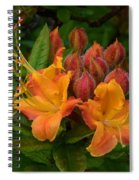 Flame Azalea Spiral Notebook