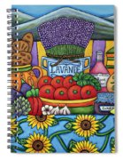 Flavours Of Provence Spiral Notebook