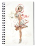 Flirtation In The Breeze Spiral Notebook