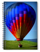 Floatin' In The Rockies 21 Spiral Notebook