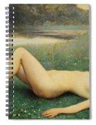 Floreal Spiral Notebook