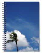 Florida Clouds Spiral Notebook