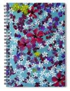 Flower Fantasy Guatemala Spiral Notebook
