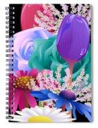 Flowers 6 Spiral Notebook