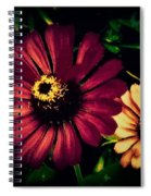 Flowers Lighting Up The Darkness Spiral Notebook