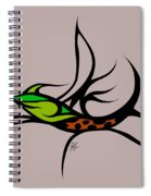 Fly Fish Fly Spiral Notebook