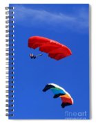 Flying Kite Spiral Notebook