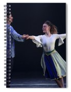 Folk Dancing  Spiral Notebook