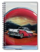 Ford Fairlane Rear Spiral Notebook