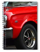 Ford Falcon Details Spiral Notebook