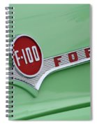 Ford Pickup Details Spiral Notebook